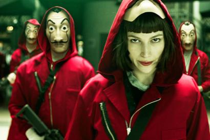 A série La Casa de Papel da Netflix